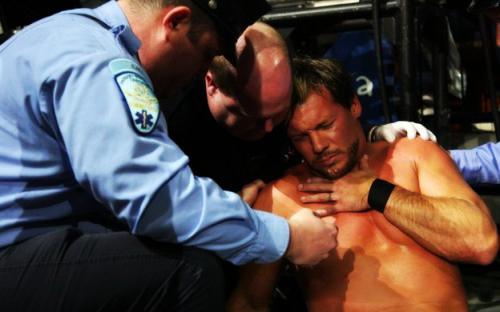 WWE-Chris-Jericho-Injured