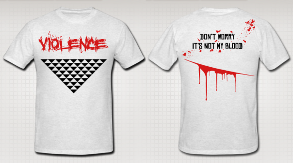 "A.B. ""Violence"" Authentic T-Shirt"