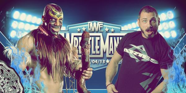 Match #4: Hardcore Ladder Match UWF Extreme Championship: The Panic Show (c) vs. Sin Piedad Tournament Winner Perfecto Aries