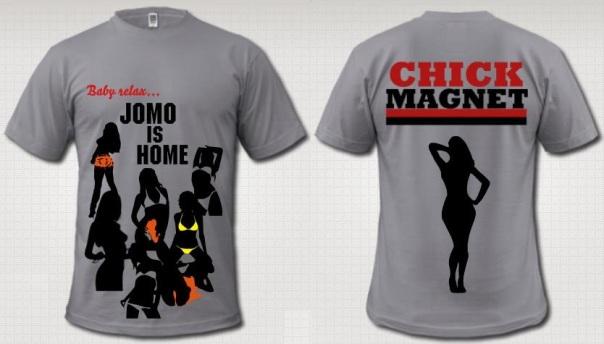 """Jomo Eduardo """"Chick Magnet"""" Authentic T-Shirt"""