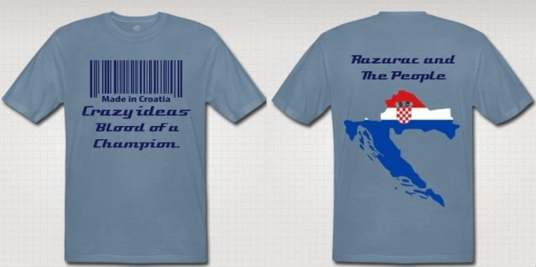 "Gabriel ""Sicimism"" Razarac ""Razarac and the People"" Authentic T-Shirt"