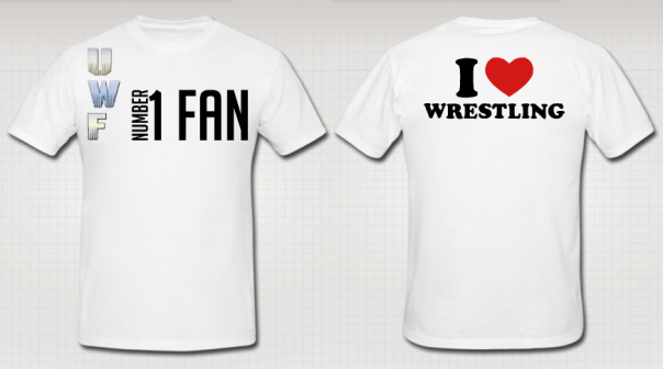 "UWF ""#1 Fan"" Authentic T-Shirt"