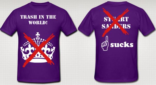 Sanders Sucks Shirt
